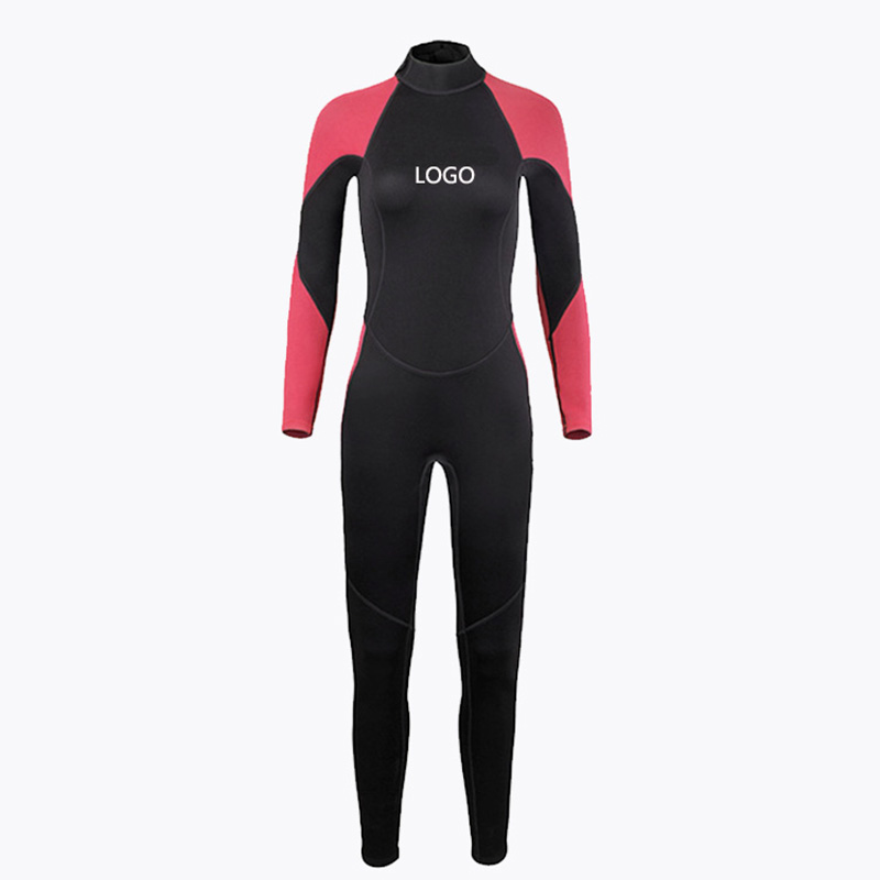 Neoprene long sleeve diving wetsuit