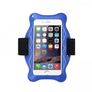 Customized Logo Gym Armband Sport Arm Band Phone Bag Case For Mobile Phone Arm Bag Case Neoprene Phone Arm bag