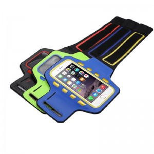 Wholesale Reflective Armband Sports Running Cell Phone Armband With Led Lights For Iphone 11 Iphone 12