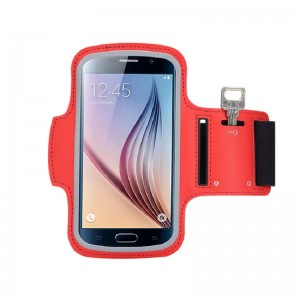 Running Sports Fitness Mobile Phone Arm Bag with Band Strap for Running