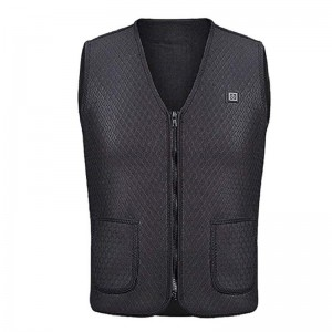 Waterproof Heated Fleece Vest Mens Muscle Vest Clothing Heated Bodywarmer Working Electric Heated Jackets Weight Vest
